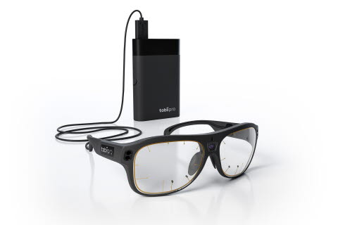 Tobii Pro Glasses 3 with controller